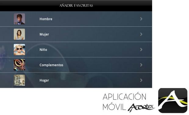 Qué es un Personal Shopper - Aplicación móvil Acotex