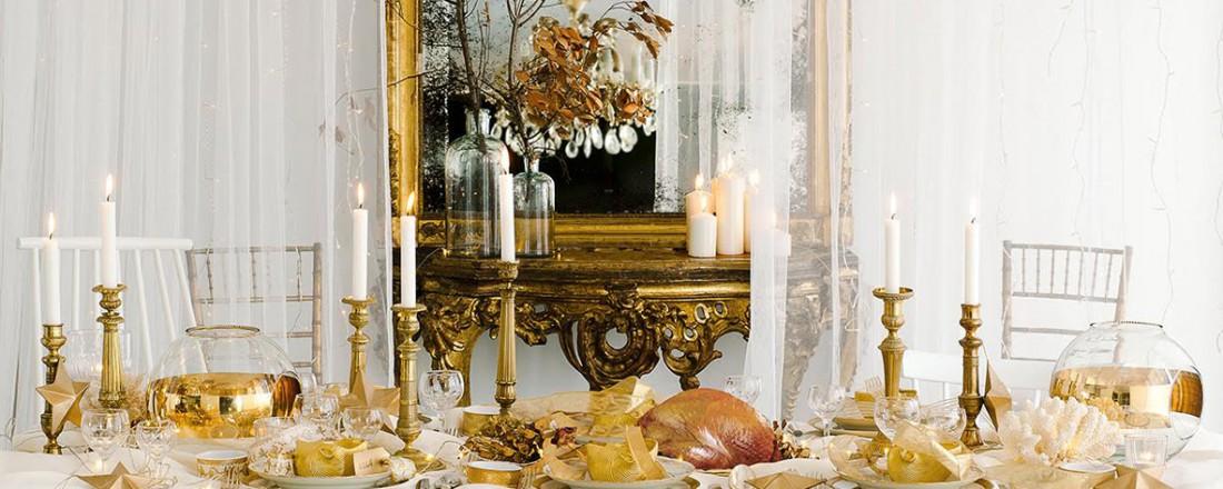 que es un personal shopper - decorar la mesa en nochevieja