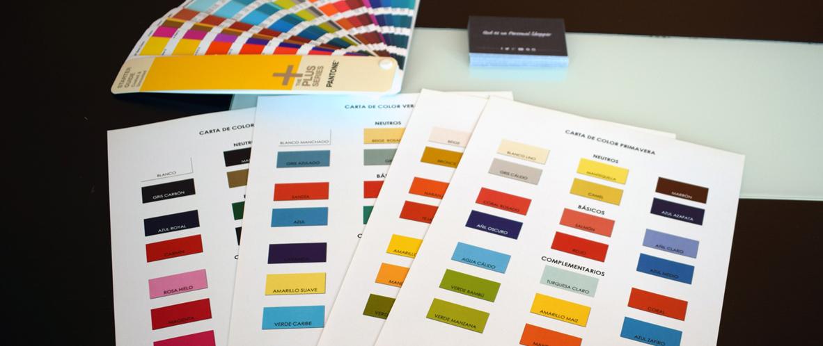 Cartas de colores para personal shoppers | Qué es un Personal Shopper