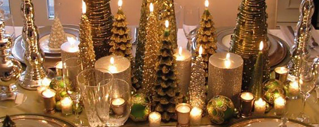personalitia -ideas para decorar la mesa en navidad