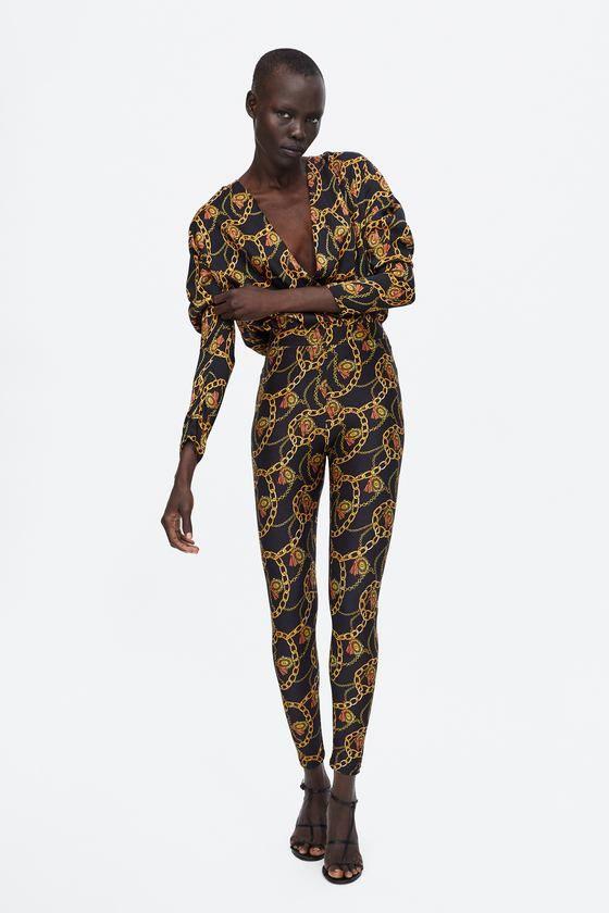 Zara - imitación versace 2018