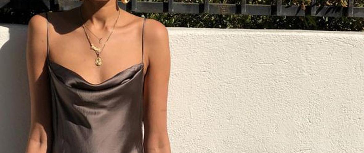 personalitia - slip dress