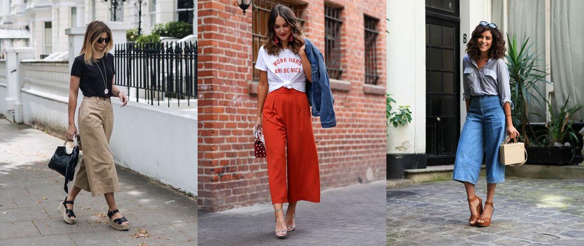Diferencias Entre El Pantalon Culotte Cropped Y Capri Personalitia